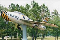 52-7080 - Republic F-84E Thunderstreak  1992 - Scanned Photo - by paulp