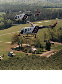 N38VA - Virginia State Police Aviation's BO-105's, N38VA with 'Sister Ship,' N39VA. - by Virginia State Police Aviation