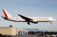 JA654J @ KPAE - KPAE Boeing 954 returning from a KPAE-KPAE test flight