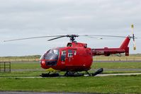 G-CDBS @ EGCK - Bonds ambulance helicopter covering the north of Wales