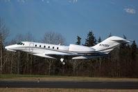 N750DX @ KPAE - KPAE departing 16R