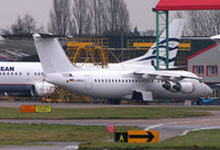 D-AMAX @ EGSH - Parked at KLM Awaiting Delivery - by N-A-S