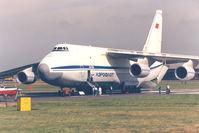 CCCP-82007 @ FAB - Farnborough Airshow , 1988 - by Henk Geerlings