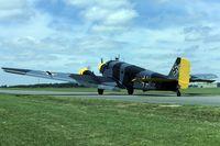 G-BFHG @ EGWZ - taxying at RAF Alconbury