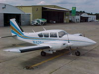 N14294 @ KZZV - 1972 Piper PA-23-250 - by Terry Lamp