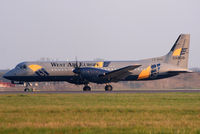 LX-WAP @ EGSS - Arrival in the last hour of daylight - by N-A-S