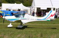 OK-JUA 03 @ EGHP - Landing at Micro Trade fair - by N-A-S