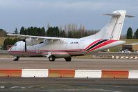 LY-ETM @ EGBB - 1987 ATR 42-300, c/n: 067 on Elmdon ramp at Birmingham
