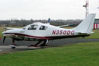 N350DG @ EGBE - 2005 Lancair Company LC42-550FG, c/n: 42074 at Coventry