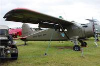 58-2062 - 1947 De Havilland Canada U-6A Beaver (DHC-2), c/n: 1394 at Midland Air Museum - by Terry Fletcher