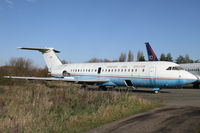 5N-HHH @ EGMC - Former VIP BAC 1-11 wears G-FIRE but is a candidate for scrapping - by Duncan Kirk