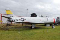 48-242 @ EGBE - North American F-86A Sabre, c/n: 151-43611 at Midland Air Museum