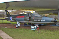 XK741 @ EGBE - Folland Gnat F.1 (Fo-141), c/n: FL5 at Midland Air Museum