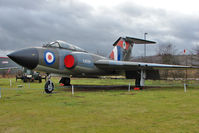 XA699 @ EGBE - 1957 Gloster Javelin FAW.5,  at Midland Air Museum