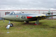 WV797 @ EGBE - Hawker Sea Hawk FGA.6, c/n: 6058 at Midland Air Museum