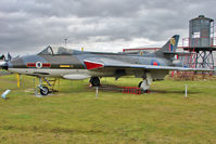 XF382 @ EGBE - 1956 Hawker Hunter F6A, c/n: S4/U/3282 at Midland Air Museum