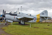 XA508 @ EGBE - Fairey Gannet T.2, c/n: F9327 at Midland Air Museum