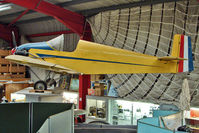 BAPC126 @ EGBE - Druine D.31 Turbulent, at Midland Air Museum - by Terry Fletcher