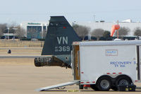 65-10369 @ AFW - A little ramp maintenance? At Alliance Airport - Fort Worth, TX - by Zane Adams