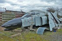 63-7414 @ EGBE - 1963 McDonnell F-4C Phantom II, c/n: 329 dismantled for spares at Midland Air Museum