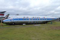 F-BGNR @ EGBE - Air Inter Vickers Armstrong Ltd VICKERS VISCOUNT 708, c/n: VW-35 - Restoration Project at Midland Air Museum