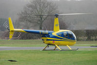 G-DCSE @ EGBE - 1999 Robinson Helicopter Co Inc ROBINSON R44, c/n: 0659 at Wellesbourne