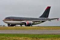 JY-AGP @ EGBP - ex Royal Jordainian 1986 Airbus A310-304, c/n: 416 - awaiting its fate at Kemble