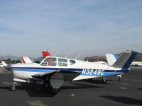 N3249C @ SZP - 1954 Beech E35 BONANZA, Continental E-225-8 225 Hp rating for takeoff - by Doug Robertson