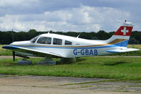 G-GBAB @ EGSN - Parked - by N-A-S
