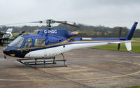 G-IHDC @ EGKR - Parked outside London Helicopters - by N-A-S