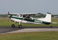 N4807P @ LAL - Cessna 180