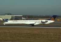 D-ACNJ @ LOWW - Eurowings Canadair CRJ-900 - by Thomas Ranner