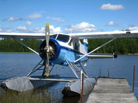 C-FMRN @ LAKE - Docked on Lac Remigny -20kts south of Royn Noranda, Quebec - summer 2010 - by S McGinn