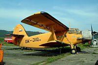 OK-JIQ @ LKMR - Antonov An-2R [1G186-28] Marianske Lazne~OK 09/05/2002