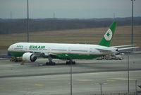 B-16711 @ LOWW - Eva Air Boeing 777 - by Thomas Ranner