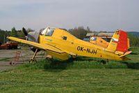 OK-NJH @ LKMR - LET Z-37A Cmelak [25-10]  Marianske Lazne~OK 09/05/2002