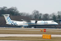 G-JECJ @ EGCC - flybe - by Chris Hall