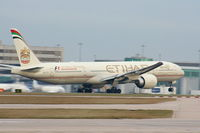 A6-ETC @ EGCC - Etihad Airways - by Chris Hall