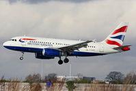 G-EUPZ @ EGCC - British Airways - by Chris Hall