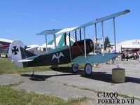 C-IAQQ @ CNY3 - Squadron Aviation Fokker D-VII Replica