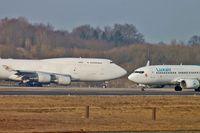 LX-ZCV @ ELLX - LX-ZCV_ Boeing 747-400BCF - by Jerzy Maciaszek