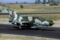 240 @ LBPG - To avoid double serials in the Bulgarian AF inventory this MiG-21 was reserialled 340 a few years later. - by Joop de Groot