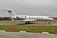 A6-RJB @ EGGW - Royal Jet Gulfstream Aerospace 300, c/n: 1505 at Luton - by Terry Fletcher