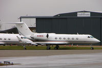 N106CE @ EGGW - 2000 Gulfstream Aerospace G-IV, c/n: 1420 at Luton - by Terry Fletcher