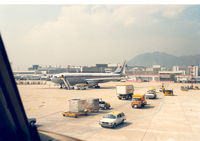 B194 @ HKG - China Airlines , Hongkong Kai Tak Airport - by Henk Geerlings