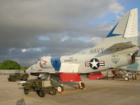 150023 @ PHJR - Very Famous A-4E. Will be re finished in VC-1 colors from Barbers Point when restored. - by Ewa Marine