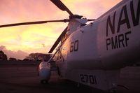 152701 @ PHJR - At sunset...Naval Air Museum Barbers Pt ramp. - by Ewa Marine