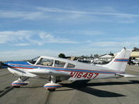 N16497 @ SZP - 1973 Piper PA-28-235 CHEROKEE CHARGER, Lycoming O-540-D4B5 235 Hp - by Doug Robertson
