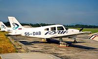 S5-DAB @ LJLJ - Piper PA-28R-201T Turbo Arrow III [2803011] Ljubljana~S5 19/06/1996 Adria Airways.