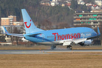 G-THOO @ INN - Thomson Airlines - by Joker767